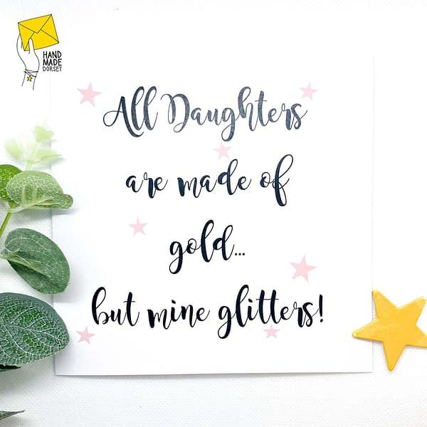 Daughter card, card for daughter