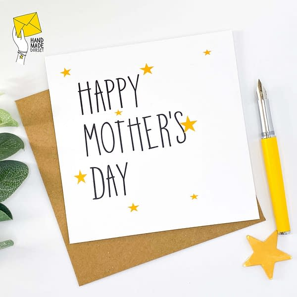 Simple mothers day card, classic mothers day card