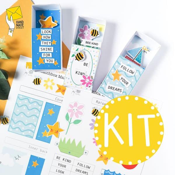 DIY kit, papercrafting kit