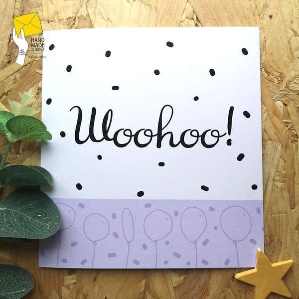 woohoo card, congratulations card