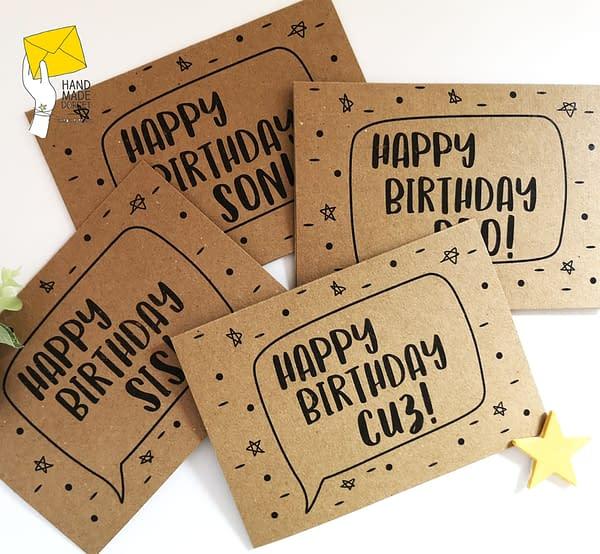 Cuz birthday card, card for Cuz, cousin card