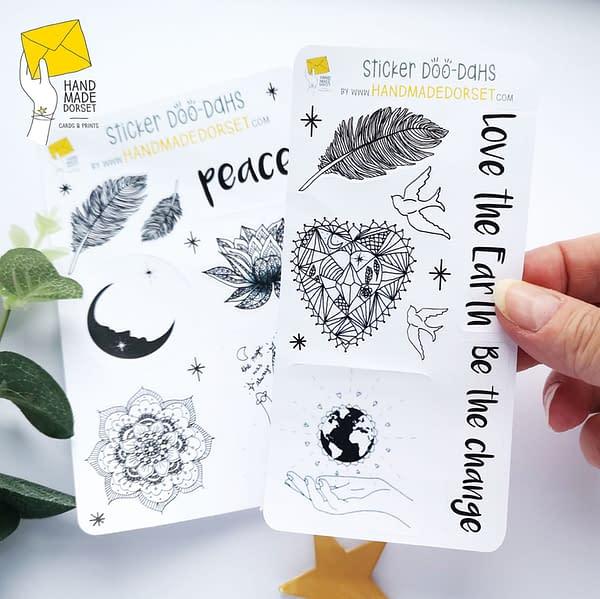 Spiritual symbol stickers, spiritual stickers