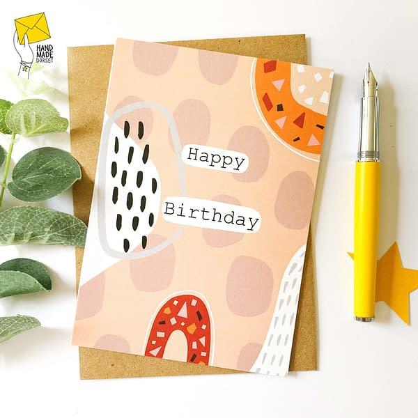 Happy Birthday Card, card for birthday