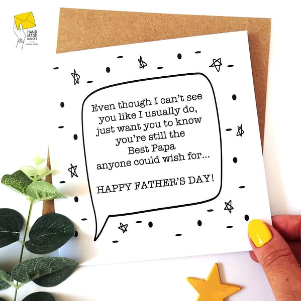 Isolation Happy Father's day, Father's day isolation card
