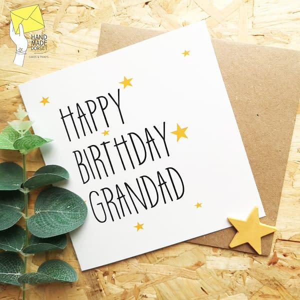 Card for grandad, grandad card