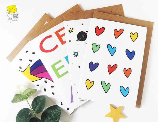 Bright Positivity Card Pack, general greetings cards, card packs