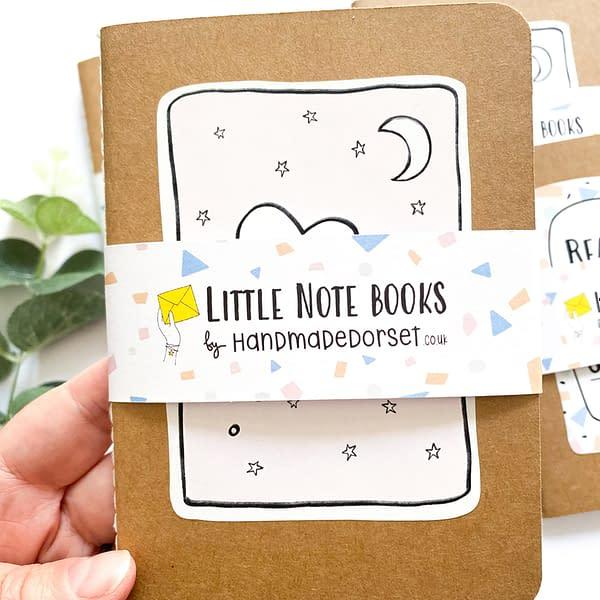 3 a.m A6 notebook, blue notebook