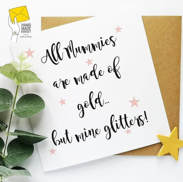 Mummy card, card for mummy