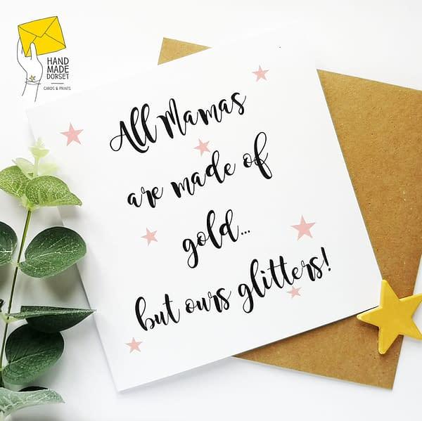 Mama card, card for Mama