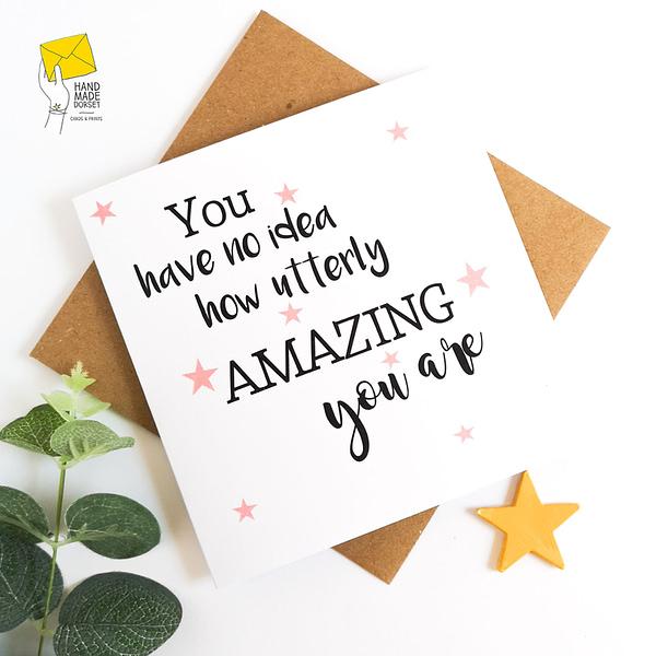 amazing friend card, amazing friend quote, congratulations