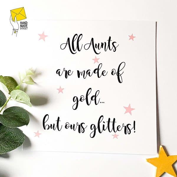Auntie card, card for Aunty