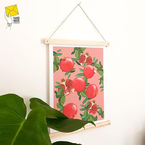 A4 Poster hanging kit, print hanger, DIY frame