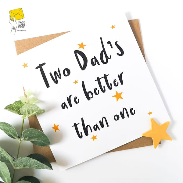 card for gay dad's, gay dads card
