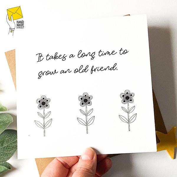 special friend card, friend's birthday card