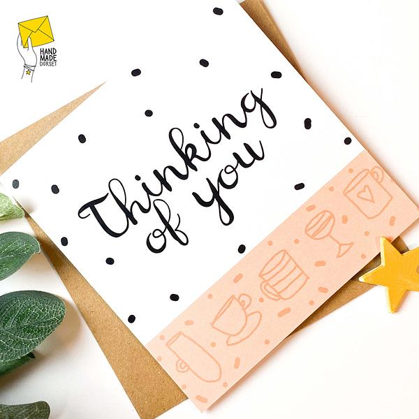 Thinking of you card, sympathy card