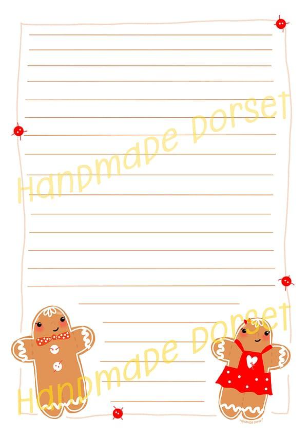 Christmas printable paper, holiday printable paper