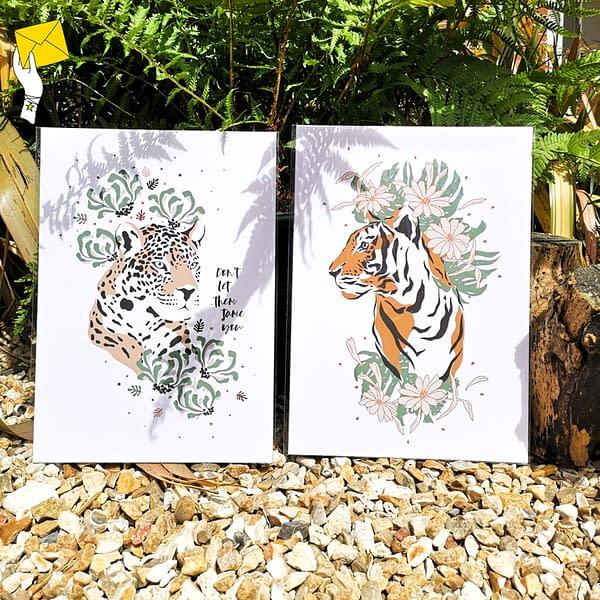 Leopard print, don't let them tame you print
