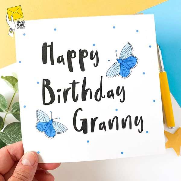 Granny birthday card, Card for Granny