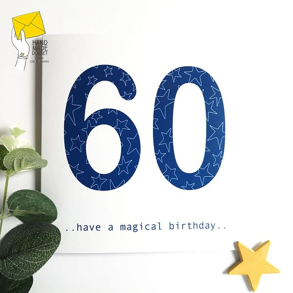60th birthday card, on your 60th