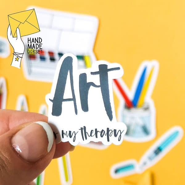 Art sticker pack, art sticker