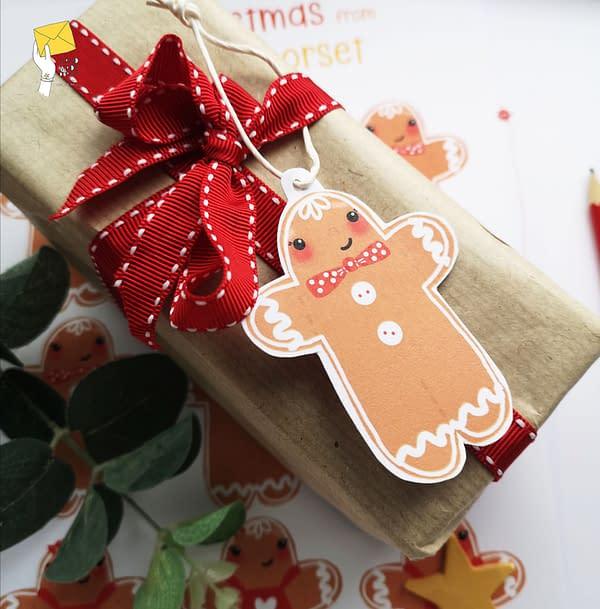 Christmas printable tags, holiday printable stickers