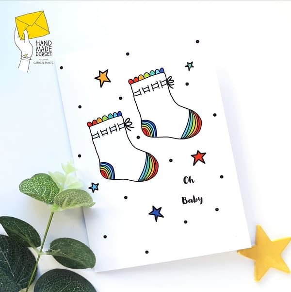 New baby card, gender neutral baby card