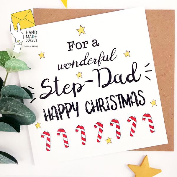 Dad christmas card, Christmas card for Dad