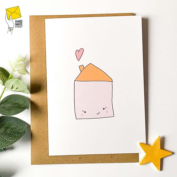 New home card, moving home card