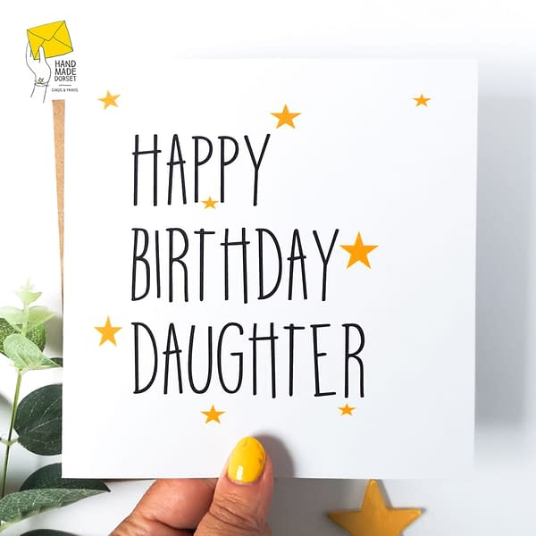 Card for Daughter, Daughter's card