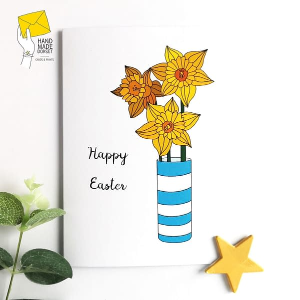 Happy Easter card, easter card