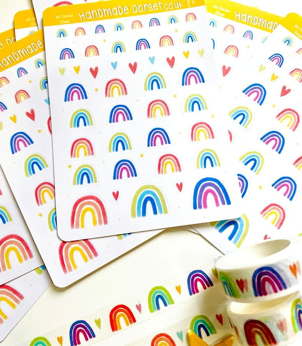 Cute Rainbow stickers, stickers of rainbows