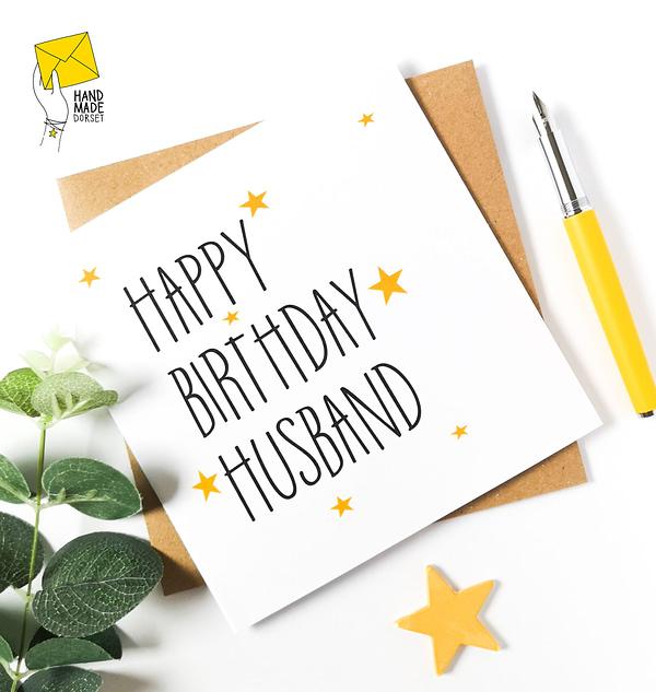 Card for husband, husband card
