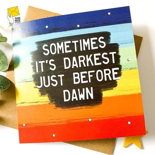 Kindness card, inspirational card