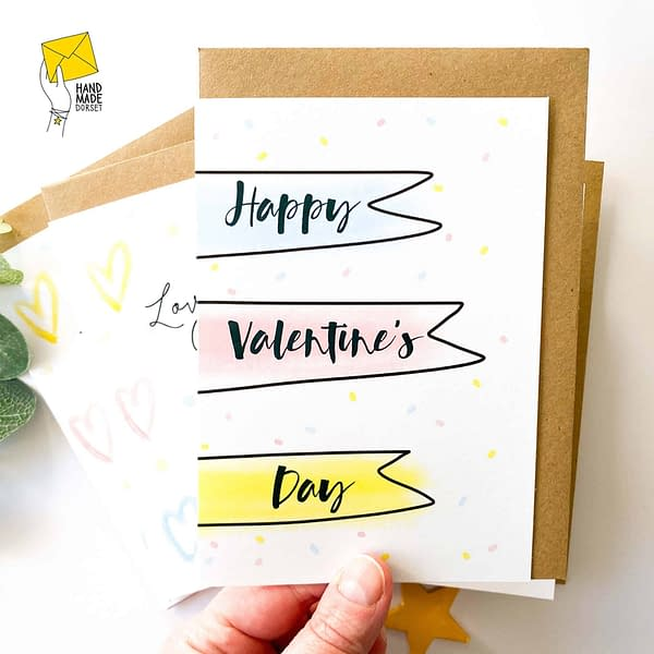 Valentine's card pack, pack of valentines cards
