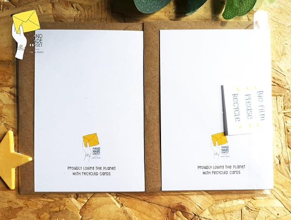 Set of 4, birthday cards