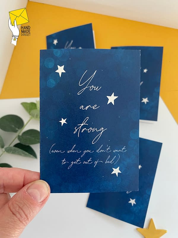 Inspirational cards, pack of self care cards