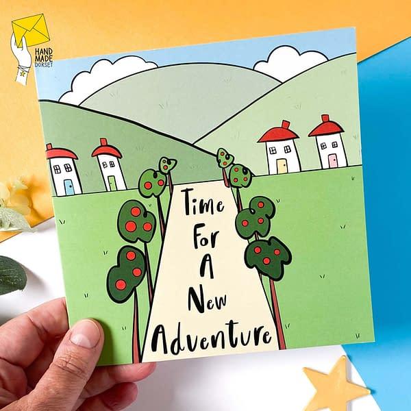 New adventure card, new start card