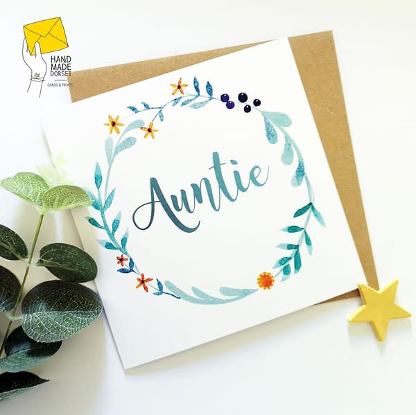 Auntie card, Auntie's birthday card
