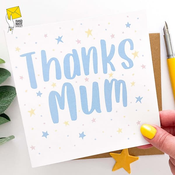 Thanks Mum Mothers day card, card for mothers day