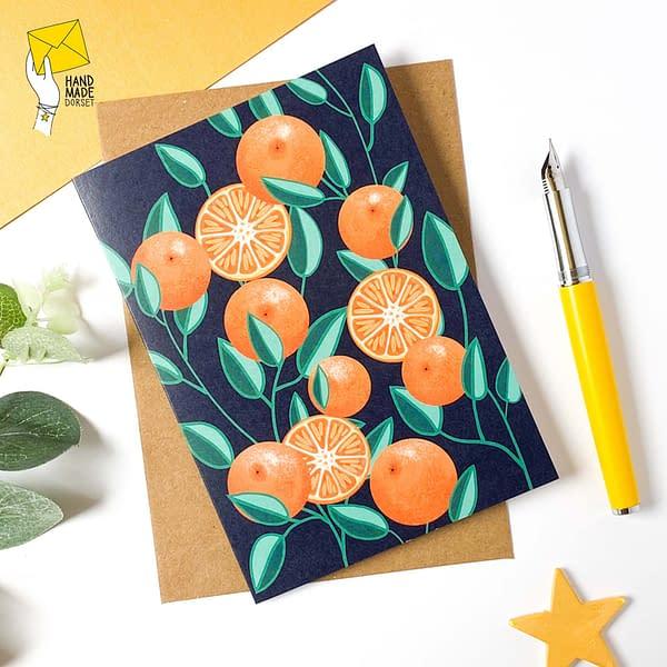 Fruit cards, pack of fruit cards