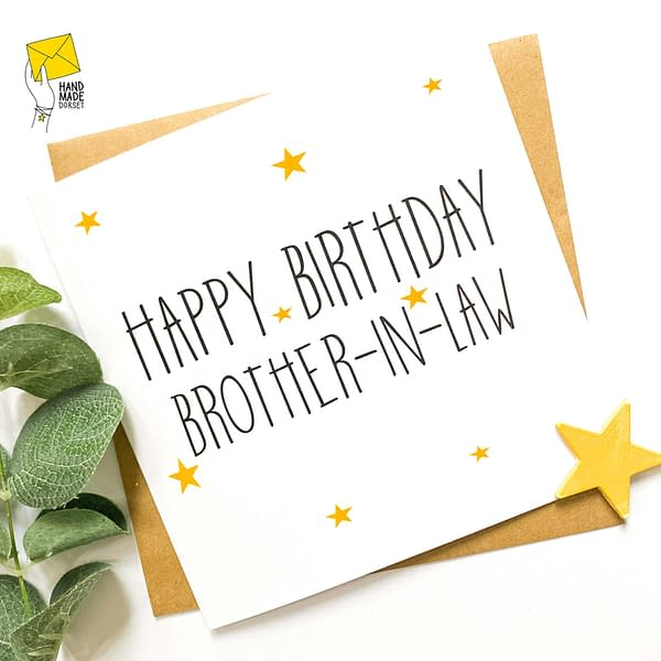 Brother-in-law card, card for brother-in-law