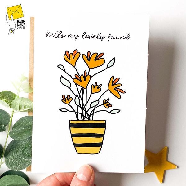 friend card, card for friend