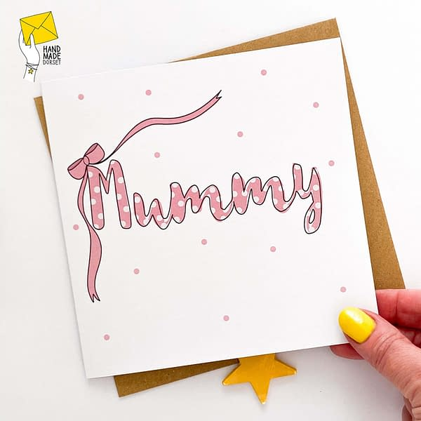 Mummy card, mummy mothers day card