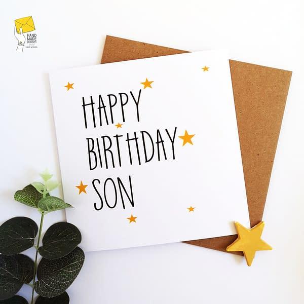Card for son, son birthday card