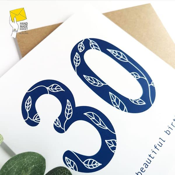 30th, 40th, 50th, 60th, 70th, 80th, 90th, 100th birthday card
