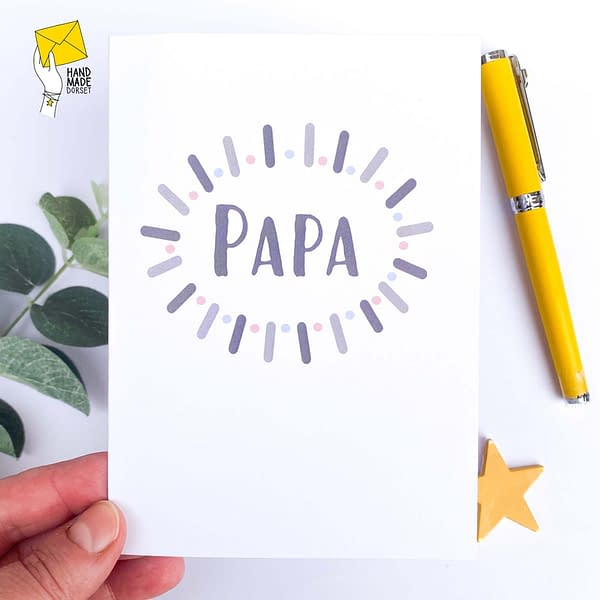 Father's day card, Papa birthday card