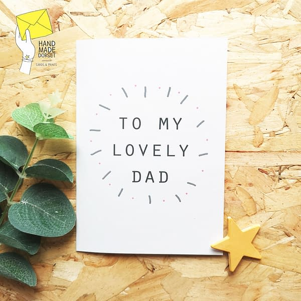 Dad card, Father's day card