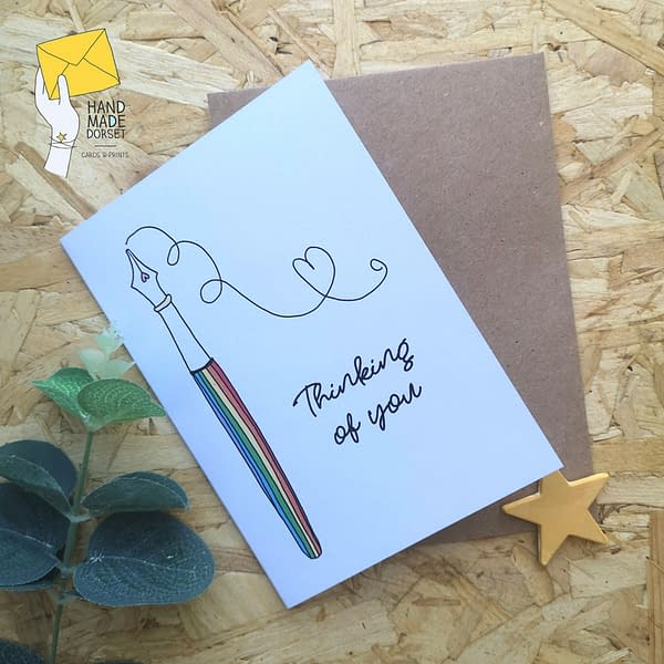 thinking of you card, thinking of you