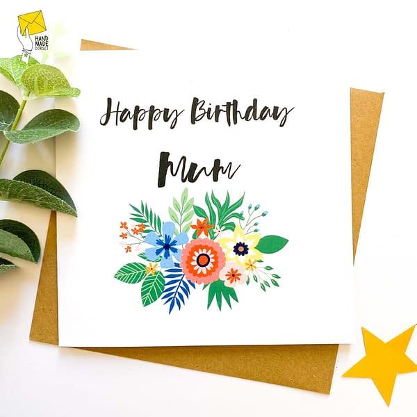 Mum's birthday card, Card for Mum