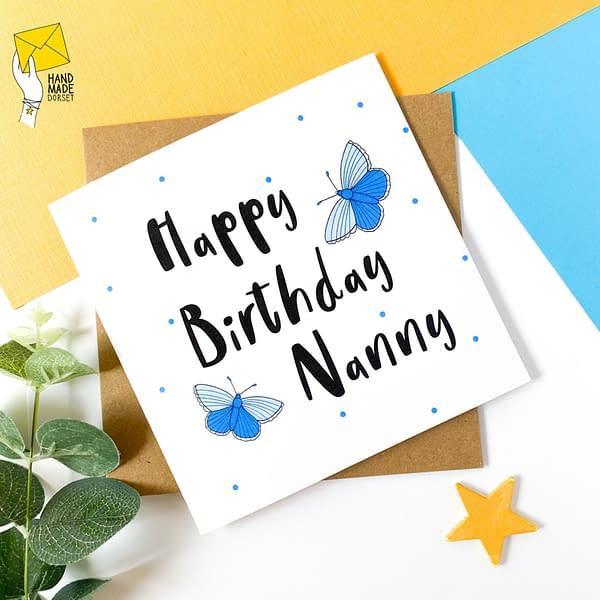 Nanny birthday card, Card for Nanny, Gran card, Granny card